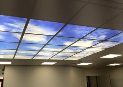Nieuwe led panelen voor tandartsenpraktijk