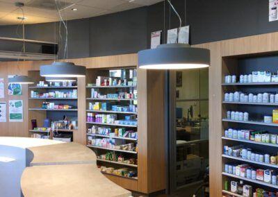 Interne verbouwing van een apotheek in Den Haag- Ypenburg